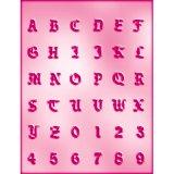CK チョコレート型/クラシックアルファベット&数字