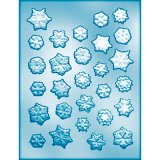 CK キャンディ型(飴型)雪の結晶