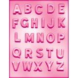 CK チョコレート型/ぷっくりアルファベット英字