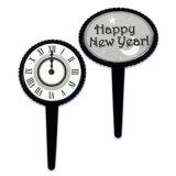 ケーキピック/HAPPY NEW YEAR (2種6本入)