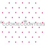 The Cookie Countess(クッキーカウンテス)ステンシル/アーガイルチェック(点)