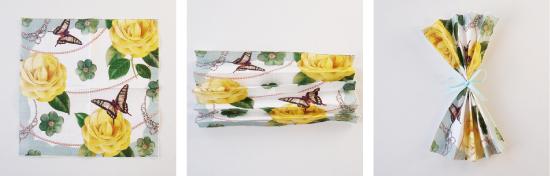 クリスマス 折り紙 紙ナプキン 折り方 : nut2deco.com