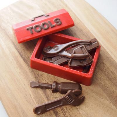 CK チョコレート型BOX/大工道具(工具セット) [90-14668]