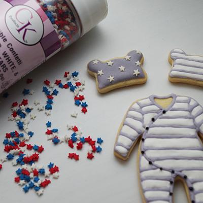 アイシングクッキーの飾りにも使える、米国製「スプリンクル」