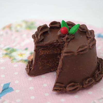 チョコ型を使った、ちっちゃいレイヤーケーキ