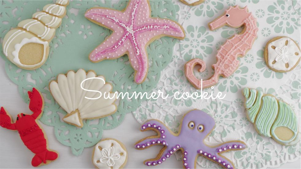 夏のクッキー型