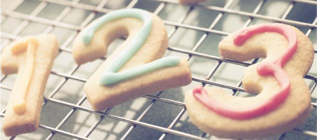 数字クッキー