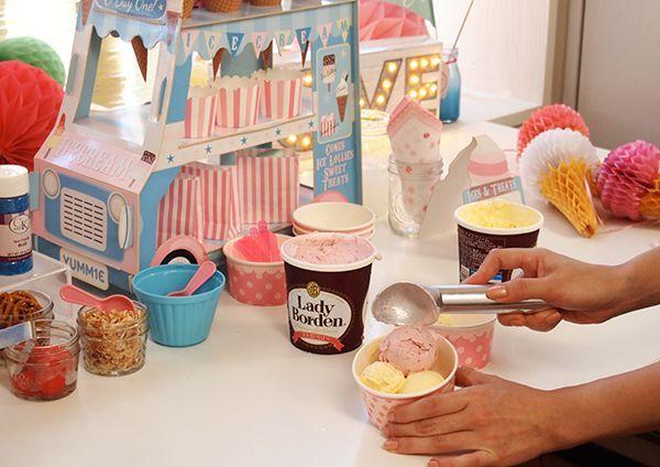 アイスクリームパーティ