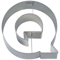 Stadter クッキー型/アルファベット英字Q(ステンレス)