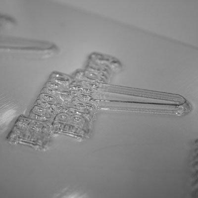 画像1: 〒 CK チョコレート型ピック/バースデー