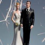 画像6: ウエディングケーキトッパー/お尻をつかむ花嫁 (6)