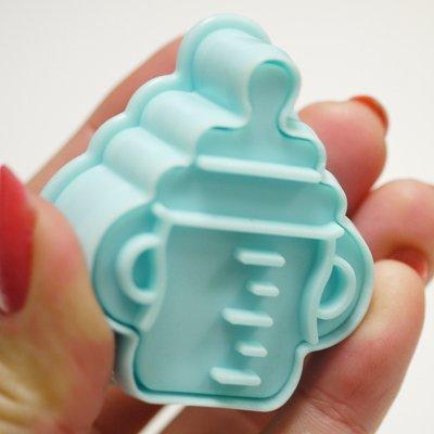 画像1: クッキー型(Stadter)スタンプ(バネ式)哺乳瓶