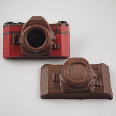 画像1: 〒 CK チョコレート型/カメラ