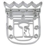 Stadter クッキー型/マドリット紋章(ステンレス)