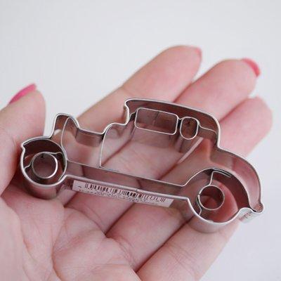 画像1: 〒 クッキー型(Stadter)ホットロッドクラシックカー【ステンレス】