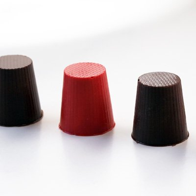 画像1: CK チョコレート型 シンプルカップ 深め3cm