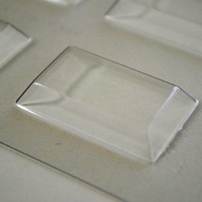 画像1: 〒 CK チョコレート型/長方形ミントチョコ