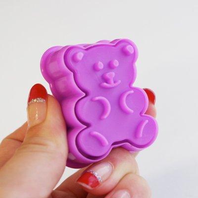 画像1: クッキー型スタンプ(バネ式)バレンタイン4pc