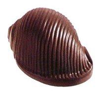 ポリカーボネート製 チョコレート型/貝