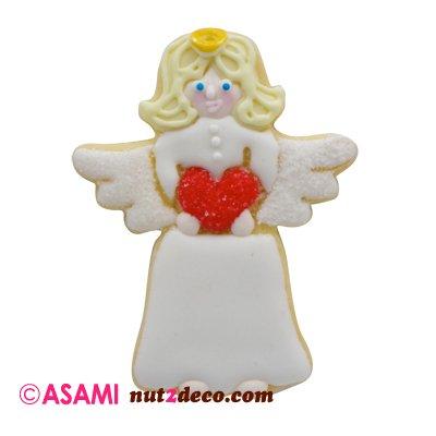 画像2: 〒 クッキー型(BIRKMANN)ハートの天使(ステンレス)