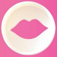 FMM カップケーキカッター/唇×丸型