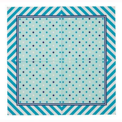 画像1: 〒 紙ナプキン(33cm)ブルー