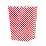 画像2: ポップコーンカップ /白×赤 (2)