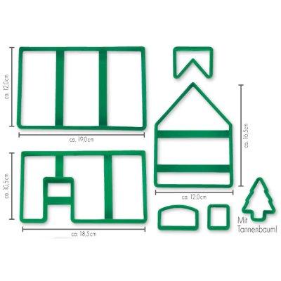 画像3: Stadter クッキー型/お菓子の家(プラスチック)箱入り