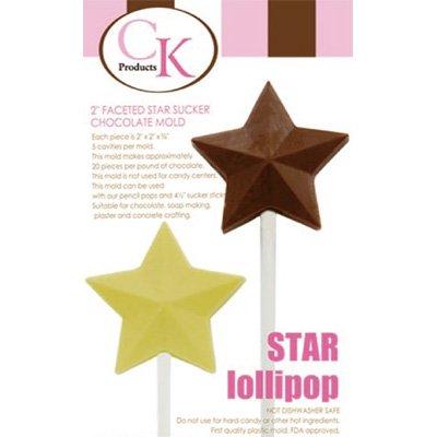 画像3: 〒 CK チョコレート型ロリポップ/スター