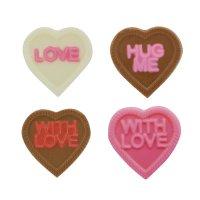 CK チョコレート型/キャンディハーツ・メッセージ
