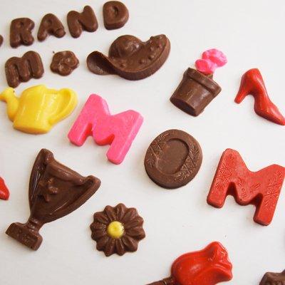 画像1: 〒 CK チョコレート型/母の日パーツセット