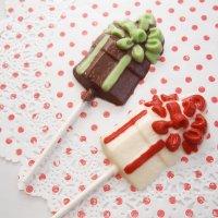 CK チョコレート型ロリポップ/ギフトボックス