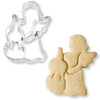 BIRKMANN クッキー型/チェロの天使(ステンレス)