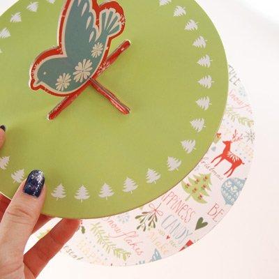 画像2: Table Fun ケーキスタンド 2段/Be Merry クリスマス