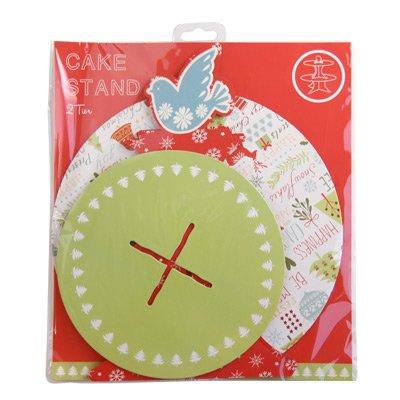 画像3: Table Fun ケーキスタンド 2段/Be Merry クリスマス