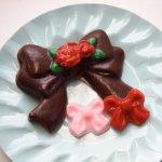 画像1: 〒 CK チョコレート型/リボンいろいろ (1)