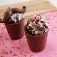 CK チョコレート型 シンプルカップ 深め3cm