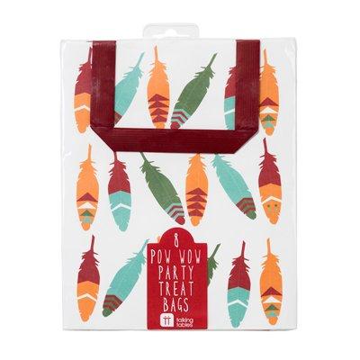 画像2: 〒 手提げバッグ(紙袋/8枚入)インディアン