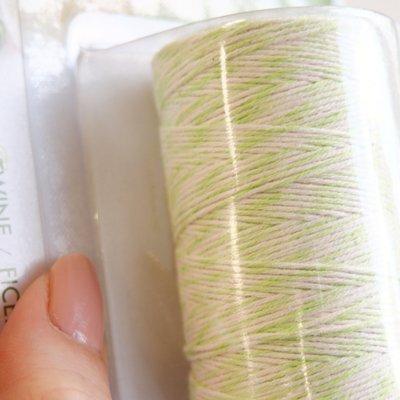 画像2: FoxRun ツイストコード 紐リボン(60m)グリーン