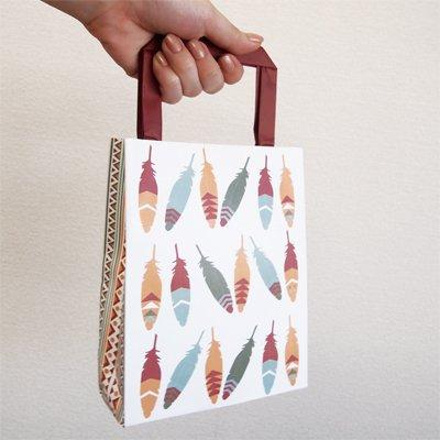 画像3: 〒 手提げバッグ(紙袋/8枚入)インディアン