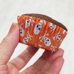 画像6: FoxRun ベーキングカップ 50枚/ドクロ(パープル&オレンジ) (6)