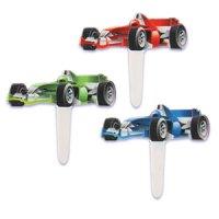 ケーキピック/F1カー(6本入)
