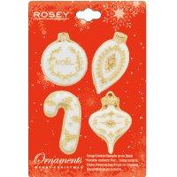 ROSEY クッキー型/ミニ★クリスマスオーナメントセット(ステンレス)