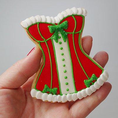 画像2: クッキー型/コルセット