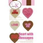画像3: 〒 CK チョコレート型/キャンディハーツ・メッセージ  (3)