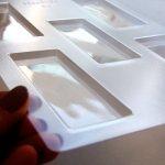 画像4: 〒 CK チョコレート型/チョコレートバー(9.2×3.8cm、深さ0.6cm) (4)