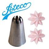 Ateco 大きめ口金(ステンレス)フラワー No.856