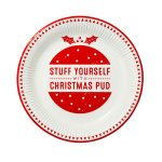 画像5: 紙皿(23cm)HO HO HO クリスマス (5)
