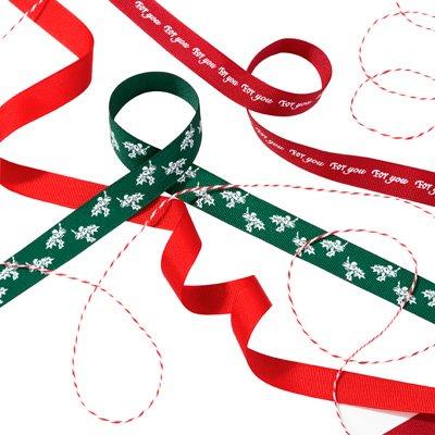 画像2: 〒 リボンセット/ボタニカルクリスマス