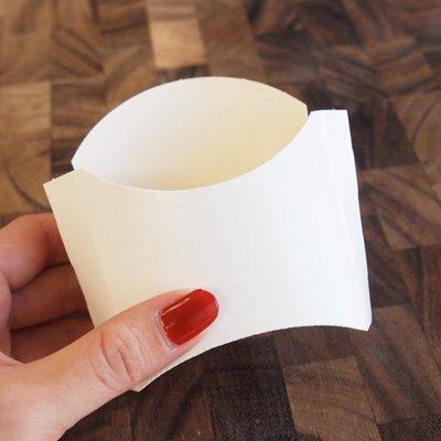 画像1: フライドポテトケース(3枚入)ケント紙